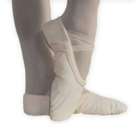 Alista Dames Balletschoenen met Hele Zool van Elastisch Canvas