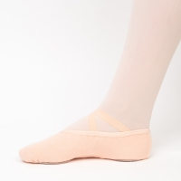 Papillon stretch canvas balletschoen voor dames met splitzool PA1014-500