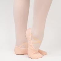Papillon zalmroze balletschoenen met voor dames met splitzol PA1014