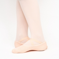 flexibele canvas balletschoenen van papillon PA1014