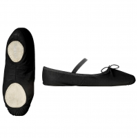 Papillon zwarte PK1012 Balletschoenen Kinderen Met Splitzool hoge kwaliteit canvas