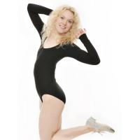 Katz Zilver Glitter Tapdans Schoenen voor dames met strikje