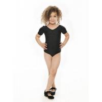 Zwarte Canvas Tapdans schoenen met strik vetertje over de wreef katz ZCHTap