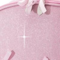 Roze danstasje met glitters voor balletspullen Katz KB100
