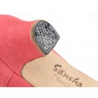 Sansha Sevilla Fl1S Suede Flamencoschoenen Spijkers in hak