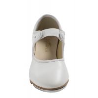So Danca Dansschoenen TA36 wit voor dames met elastisch bandje
