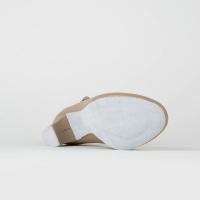 Dansschoenen Met Suède Zool So Danca CH791 beige 35 mm Hak flexibele zool