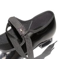 So Danca dames tap Dans schoenen TA36 met elastiek en striksluiting