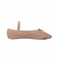 SoDanca BAE90 roze balletschoen van leer voor kinderen en volwassenen