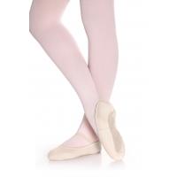 roze Balletschoenen van Elastisch Canvas met volledige suede zool SD48L