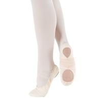 zalm roze So Danca BAE13 Canvas Balletschoenen met Elastische Splitzool
