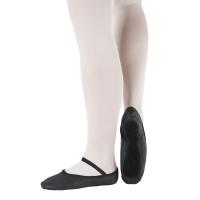 zwarte So Danca zwarte Balletschoenen voor beginners BAE14L volwassenen en kinderen